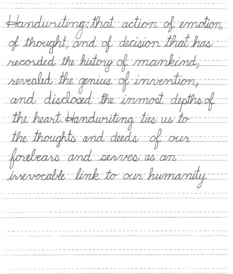 23 best Handwriting & Cursive Writing images on Pinterest ...