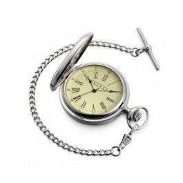 Arata-i ca timpul petrecut cu el valoreaza enorm pentru tine cu un cadou luxos perfect pentru un barbat scorpion, un ceas de buzunar Dalvey