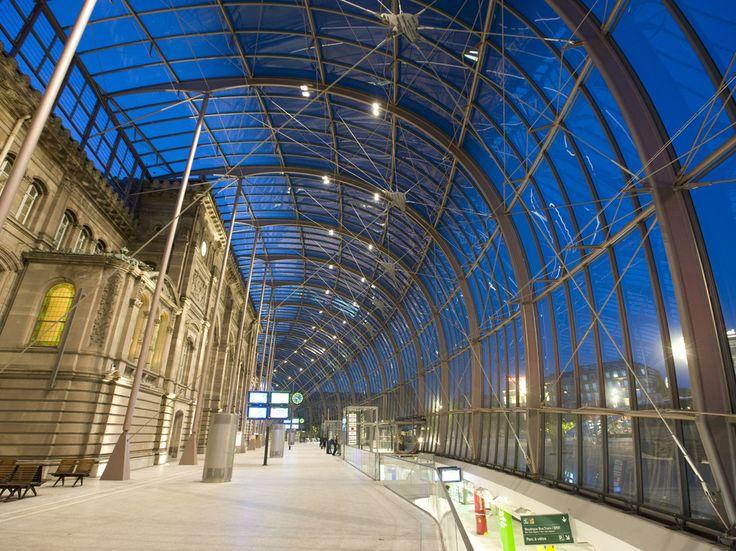 Strasbourg Railway Station, France