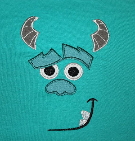 Monsters Inc Sully Shirt  Monsters Inc by fairytalesfireflies, $20.00
