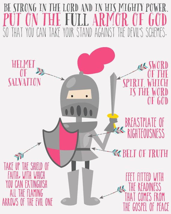 INSTANT DOWNLOAD Armor of God Scripture by TheMeekBoutique on Etsy