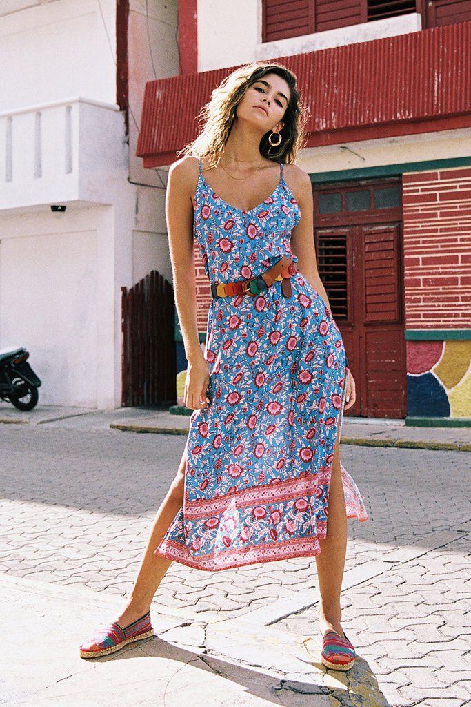 191a6f69a2a9 Primrose Slip Dress Topaz Arnhem Clothing