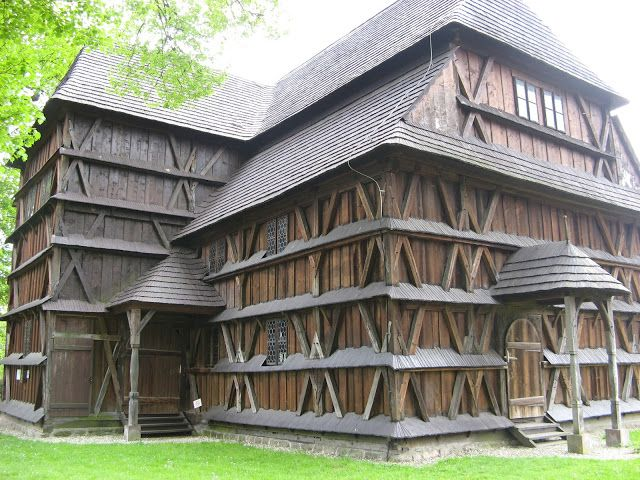 Wooden Churches and Folk Architecture of the Carpathian Mountains: Hronsek, Slovakia