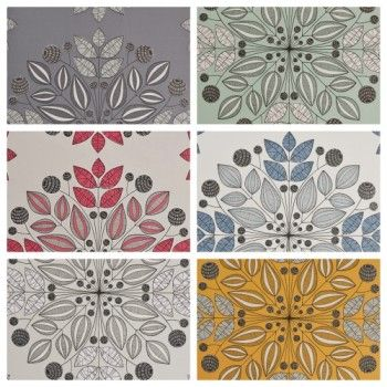 Floral Kaleido Wallpaper
