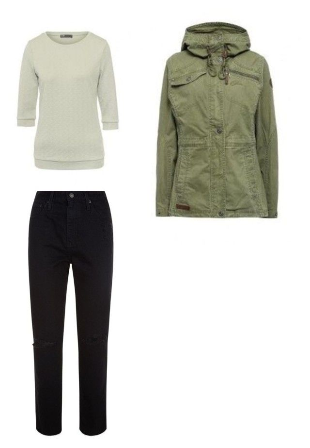 """Базовый сет 3"" by julia-tcherba on Polyvore featuring мода и AG Adriano Goldschmied"