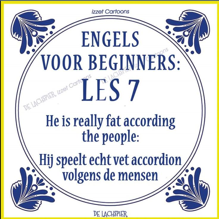 Translation of the Dutch explanation: He plays really fat accordion people say