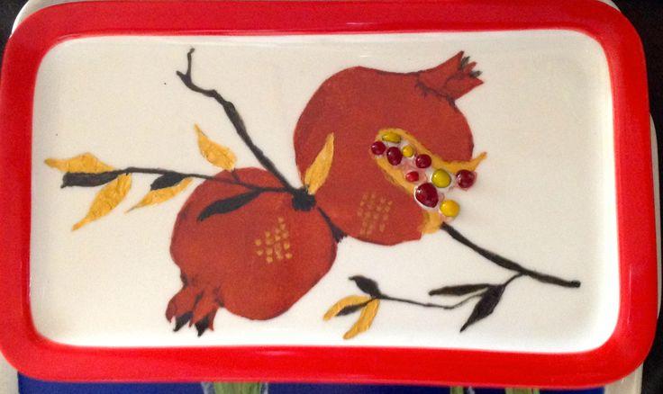 Jillian Varga Practise piece for pommegranites.