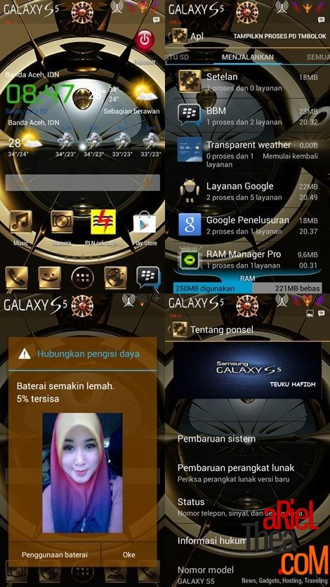 CUSROM GOLDEN-X FOR ADVAN S5E (HASIL PORT ULANG)