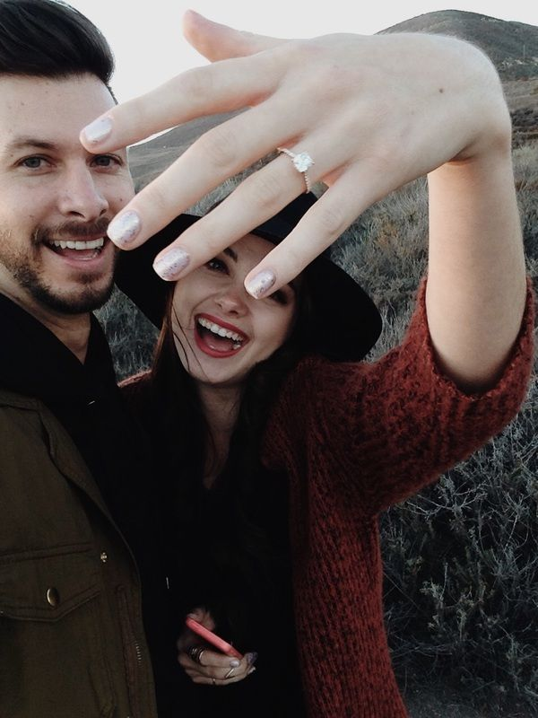 my freinds are engaged. nbd. Cliffside Proposal | Taste Neapolitan