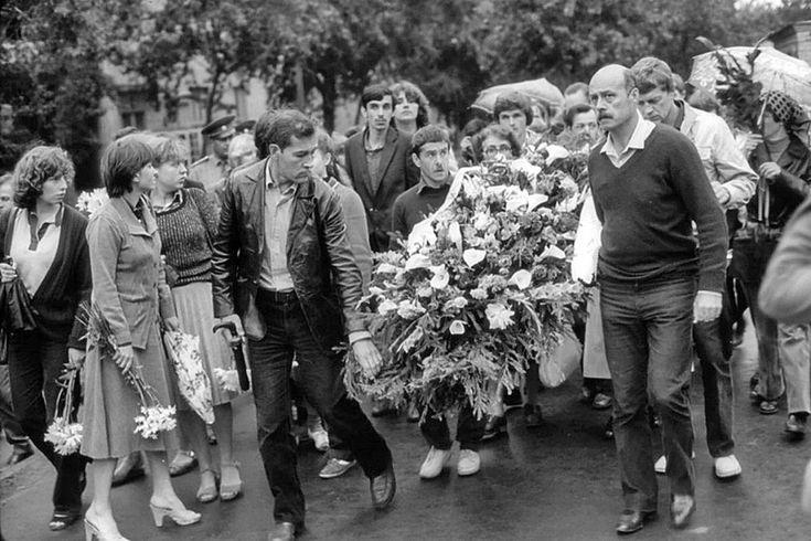 С.Говорухин. Ваганьково, 28 июля 1980 года.<br />