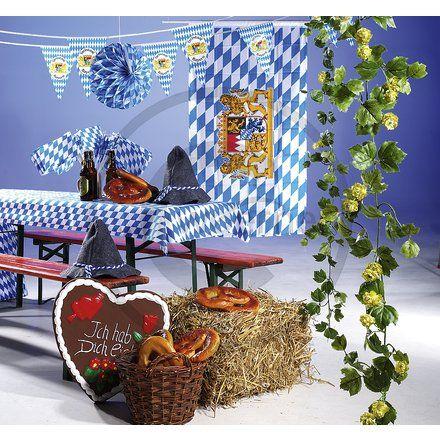 dekoration bayrischer abend m belideen. Black Bedroom Furniture Sets. Home Design Ideas
