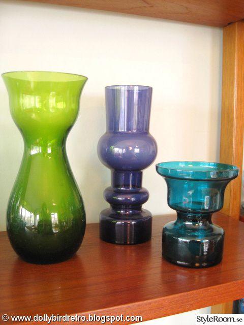 retro,bergdala,kaj franck,hyacintvas,retro glas,turkost