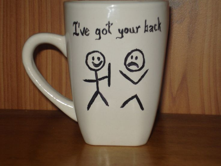 I've got your back by dirtydishes on Etsy