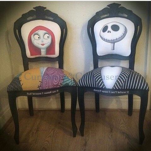 Jack and sally chairs