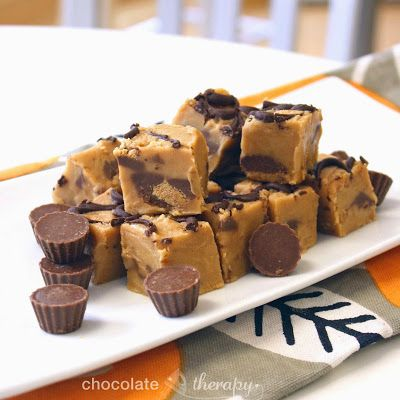 Fudge Made With Confectioners Sugar And Chocolate Chips