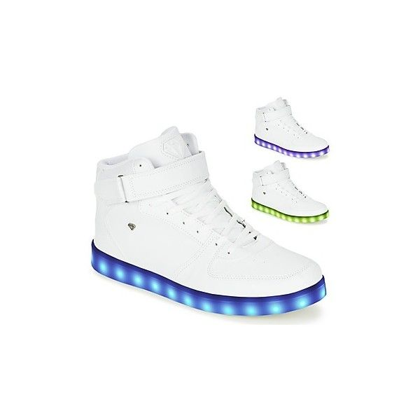 Cash Money CMS33 LIGHTLORD Shoes ($63) ❤ liked on Polyvore featuring men's fashion, men's shoes, men's sneakers, white, mens white high top shoes, mens high top shoes, mens high top sneakers, mens white high top sneakers and mens white sneakers