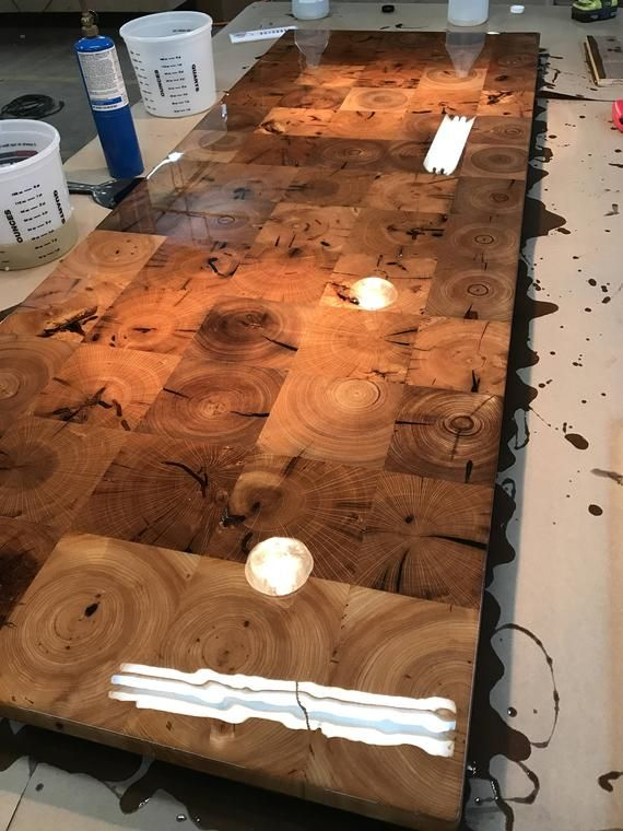 Reclaimed Barn Beam End Grain Counter Top Table Top Island Top Bar Top Butcher Block Industrial Rustic Modern Barn Beams Barn Wood Wood Bars
