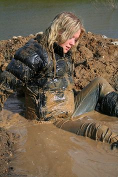 Latex Girl in Mud - Google Search