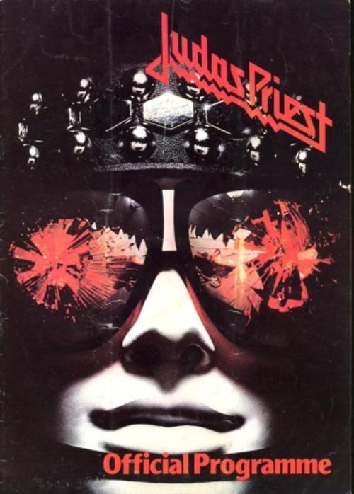 Judas priest 1978 hell bent for leather tour u.k. concert program book