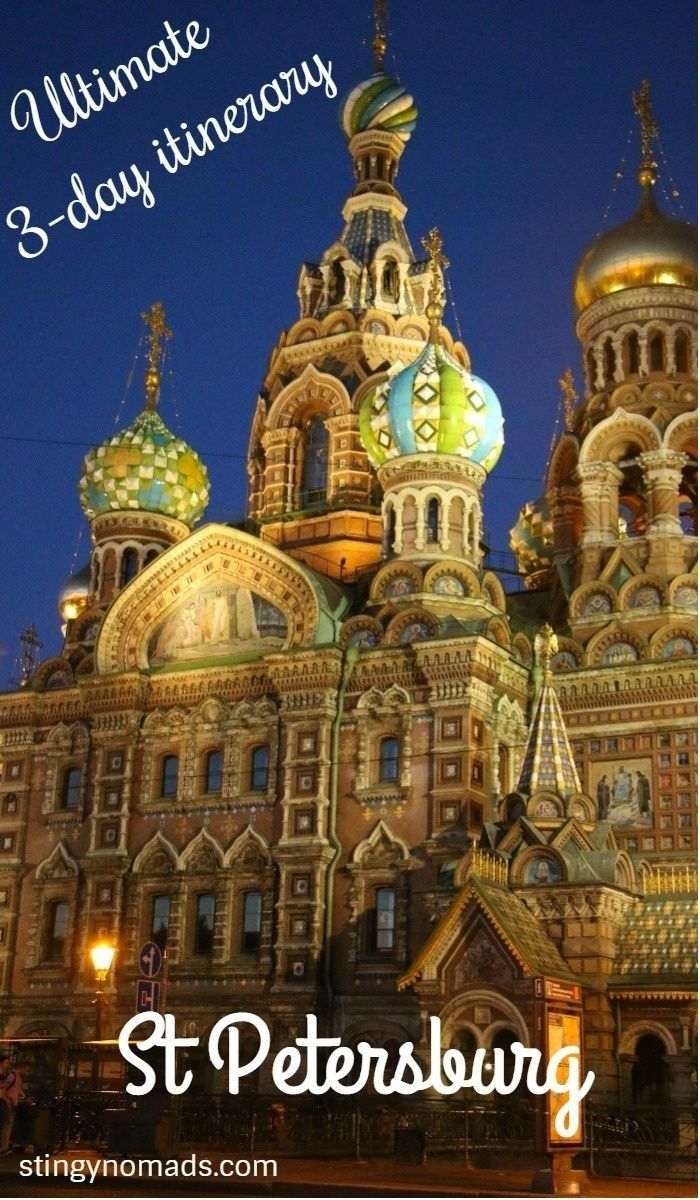 Complete 3-day itinerary for St.Petersburg, Russia, plus accommodation. #russia #itinerary #cityguide #stpetersburg #saintpetersburg