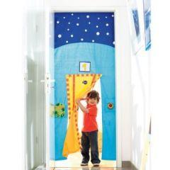 17 meilleures id es propos de chambre d 39 enfants rideaux - Rideau de lit enfant ...