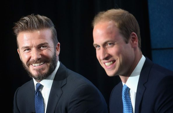 Prince William, Duke of Cambridge launches the 'United for Wildlife' Campaign with David Beckham at Google Town Hall on June 9, 2014
