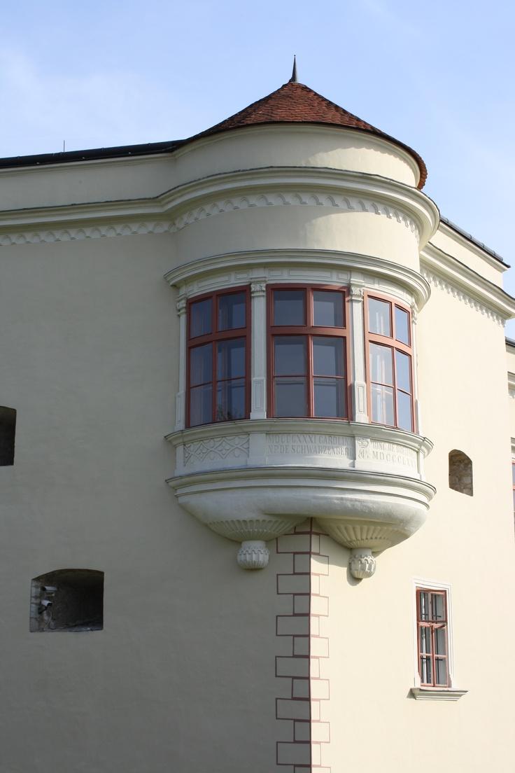 Sárospatak, Sub rosa balcony room in the Rákóczi castle, Hungary