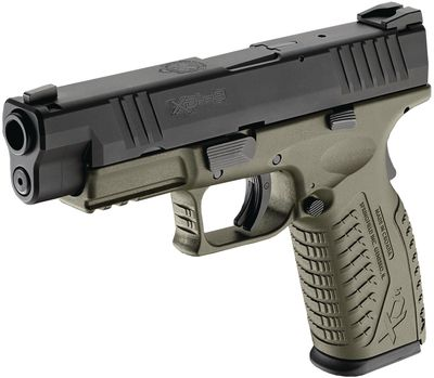 Springfield XDM 9mm OD Green