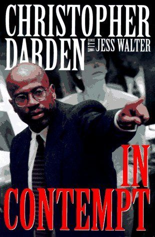 """In Contempt"" by Christopher Darden (with Jess Walter) --- One of the prosecuting lawyers in the O.J. Simpson murder trial shares his views on the case. Not sure if this is the co-author's fault but Darden's writing is in dire need of an editor. On top of that, he is wildly, unhealthily, obsessed by race. I was shocked to agree with Mark Fuhrman's analysis of Darden's book! I would not recommend it, especially if you've already read other accounts. GOODREADS SCORE: 2/5 Stars…"