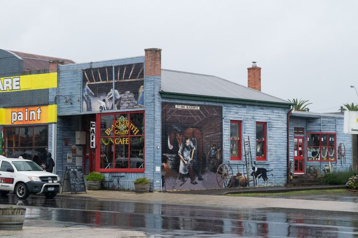 Cafe Sheffield, Tasmania's North