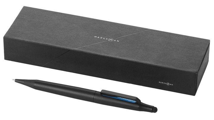 Trigon Stylus ballpoint pen & touchpen from Marksman / Kugelschreiber & Touchpen Trigon Stylus von Marksman - Distinction/Auszeichnung: Honourable Mention (Red Dot Award 2013)