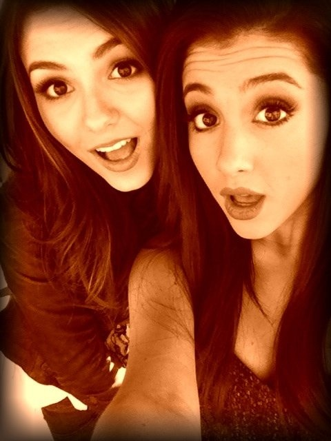 Aha :) xx @Victoria Brown Brown Justice √ @Ariana Bourke Bourke Grande Found this of you two! (: xoxo ♡ adorable!! xx - @Hailey Phillips Phillips Catoe