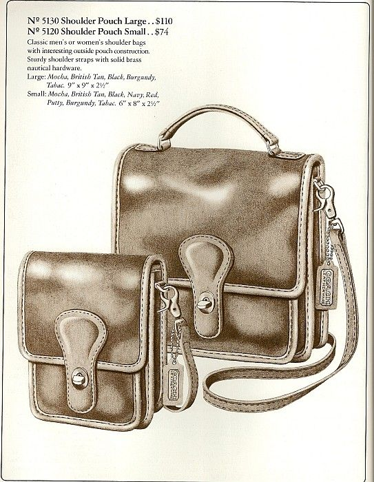 Shoulder Pouch Vintage Coach In 2018 Pinterest Bags And Handbags