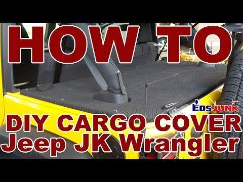 DIY Rear Cargo Cover for Jeep Wrangler JK - YouTube