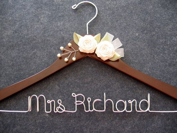 1000 images about diy wedding dress hanger on pinterest for Mrs hangers wedding dress