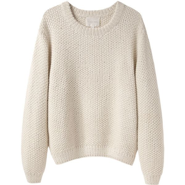 Moderne Sylvia Alpaca Handknit Pullover ($435) ❤ liked on Polyvore featuring tops, sweaters, shirts, jumpers, pink pullover sweater, collared shirt, pink collared shirt, long sleeve collared shirts and long sleeve sweaters