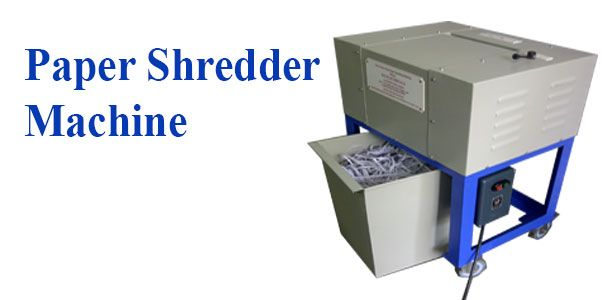 Paper shredder machine from Raj Electricals can shredd paper with paper clips and staples, thick paper, cartons hence used also useful as carton shredder, mono cartons, corrugated boxes, news paper, laminates, cheque leaflets,etc. It shredds paper with paper clips without causing any damage to the cutters. We have also provided starter with overload protection during phase failure.