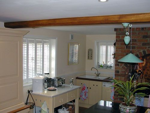 Kitchen Shutters, Shutters Are Perfect For The Kitchen