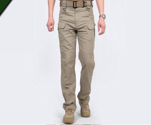 Tactical Cargo Pants Men Multi-pockets Military Training Pant – 520outdoor