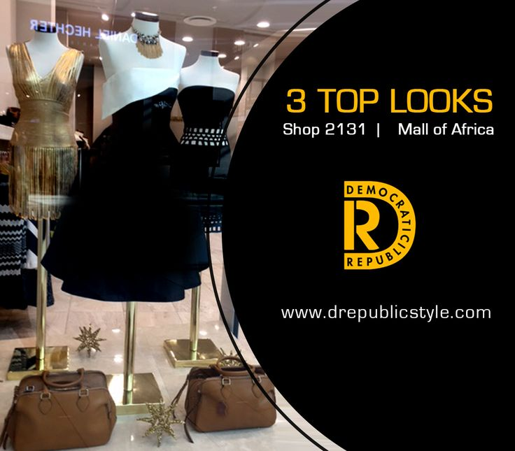 With so many beautiful dresses... how does one choose? Visit Mall of Africa to get your outfit today
