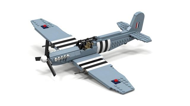 Supermarine Spitfire #flickr #plane #LEGO