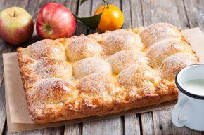 Пирог из творожного теста с яблоками рецепт с фотографиями