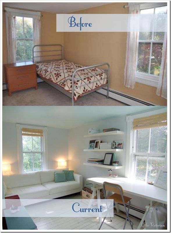 63 Best Images About Home Office/ Guest Bedroom On