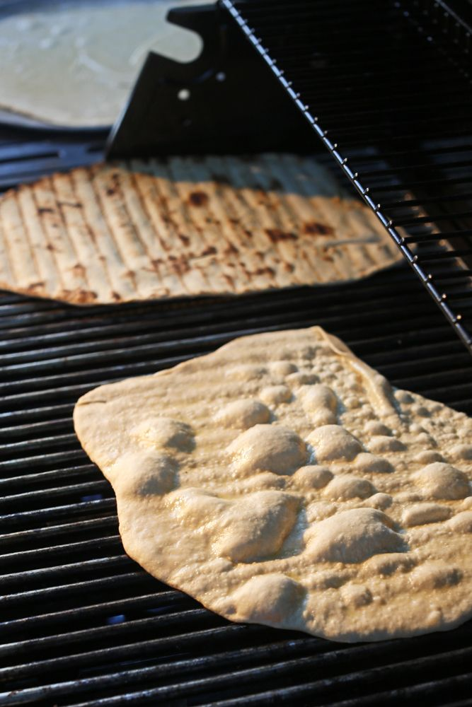 Hey, don't be afraid to grill pizza dough. It's way easier than it sounds.