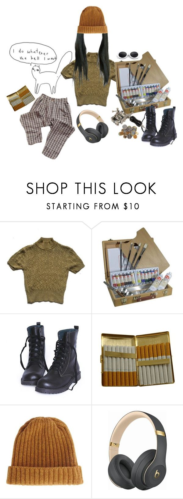 """me starterpack lol"" by savlinem on Polyvore featuring KING, ASOS und Beats by Dr. Dre"
