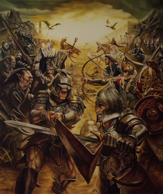 LORD OF THE RINGS by klukart
