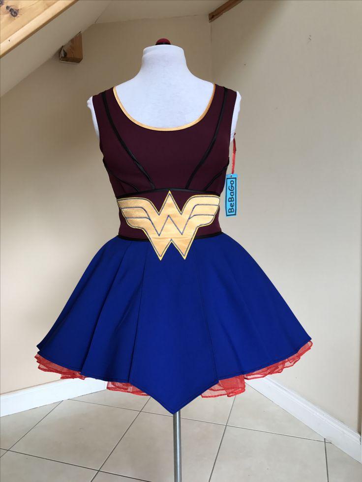 Wonder Woman dress BeBaGo collection ⚡️ https://www.etsy.com/ie/shop/BeBaGo?ref=seller-platform-mcnav