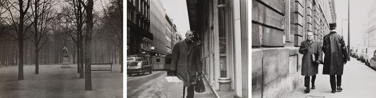 Douglas Huebler, Duration Piece #4, Paris, France, January 1970, January 1970. Photocopy and twelve gelatin silver prints,