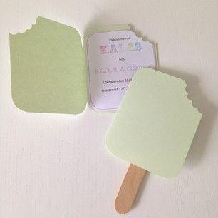inbjudningskort barnkalas glass - Sök på Google