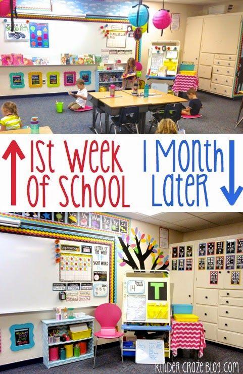 My Classroom Wasn't Ready (And it was OK) - Kinder Craze: A Kindergarten Teaching Blog